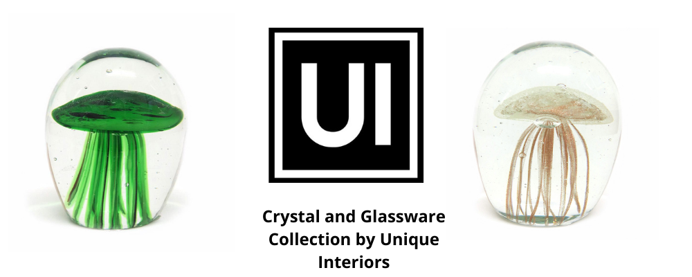 Crystal and Glassware Collection by Unique Interiors
