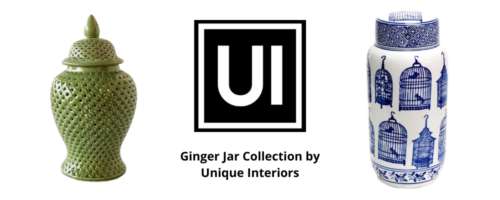 Ginger Jar Collection by Unique Interiors
