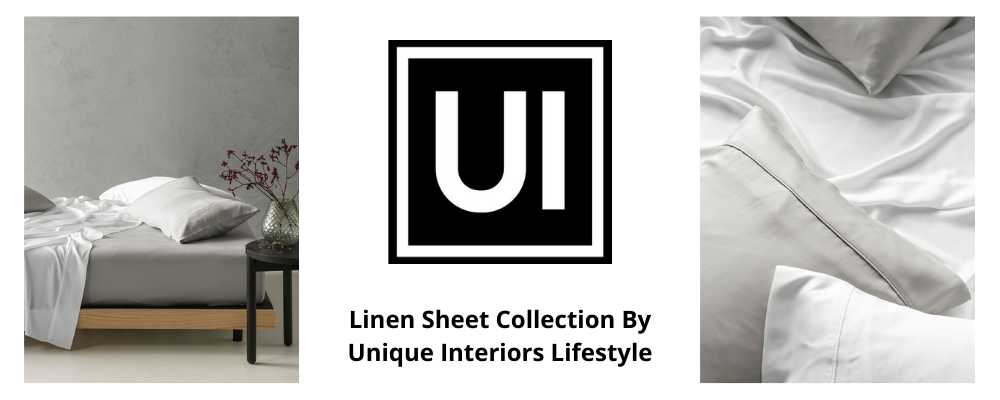 Linen Sheet Collection By Unique Interiors
