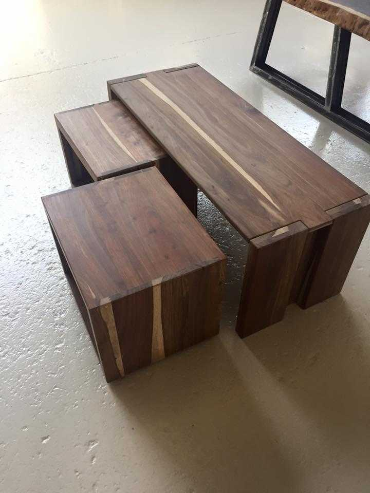 Kiaat Modern multi purpose coffee Table