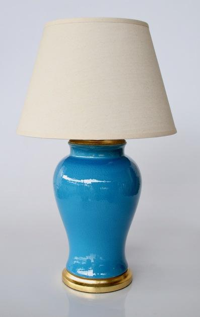 Mid Blue lamp