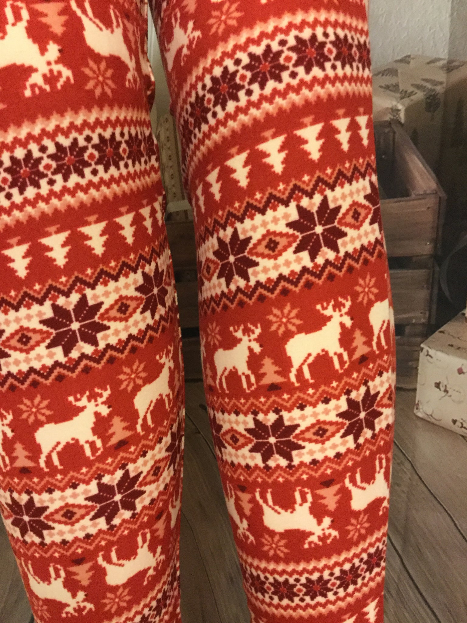 Ready For Christmas Print Leggings
