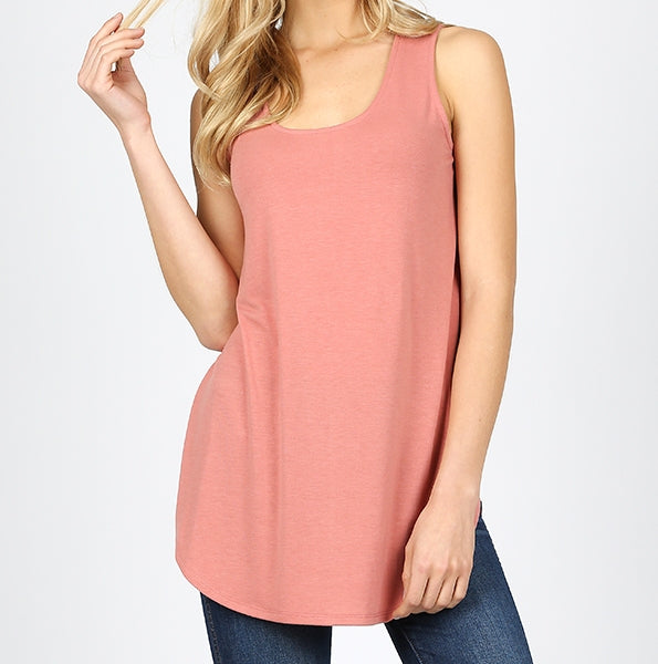 Plus Sleeveless Tank Style Top in Packs