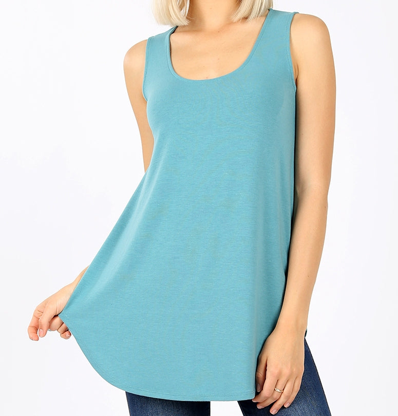 Sleeveless Tank Style Top in Packs