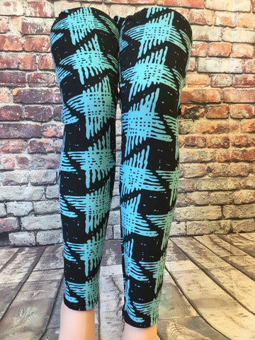 Hashtag Diamonds Printed Leggings