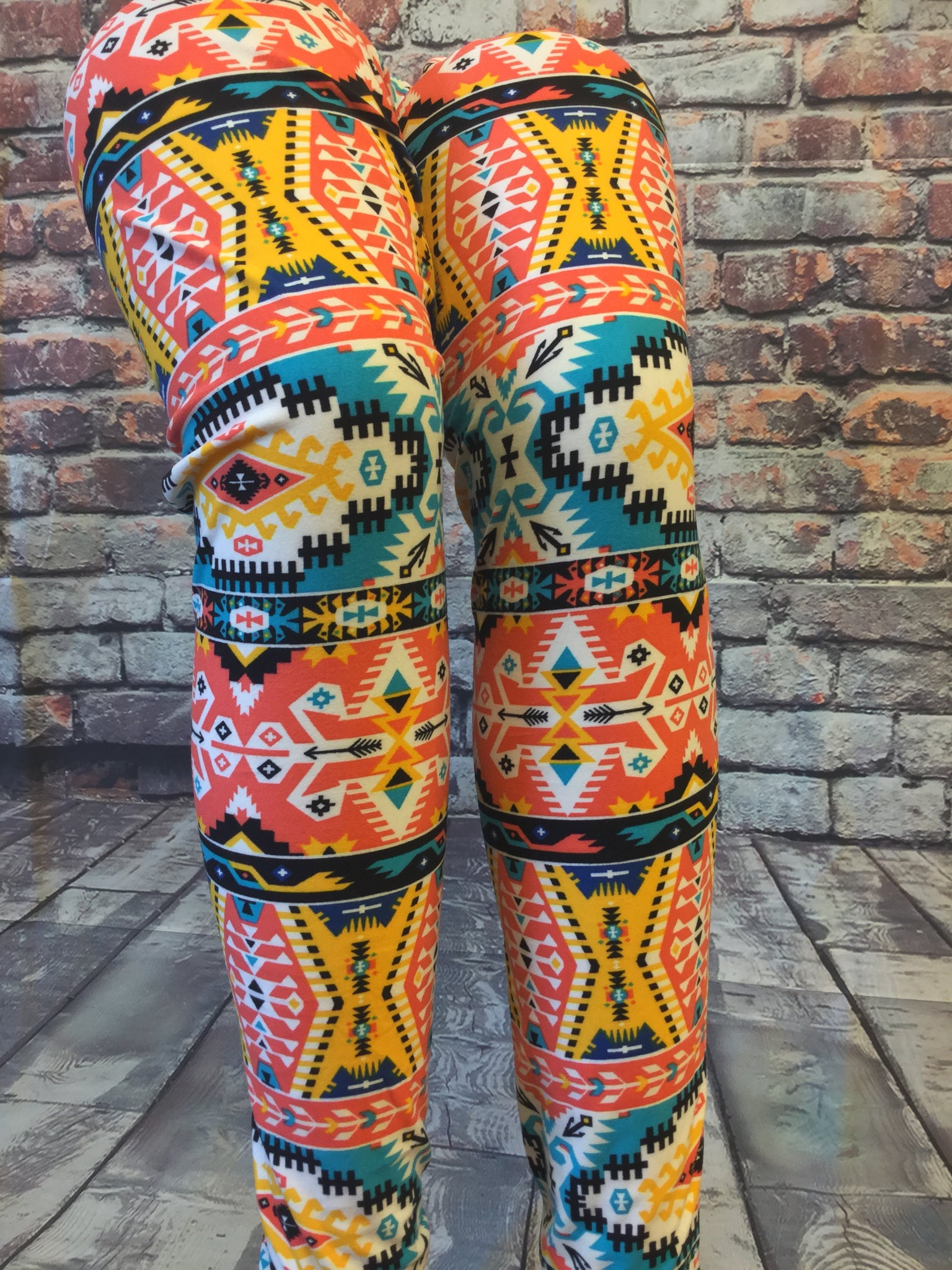 Indian Summer Fun Printed Leggings