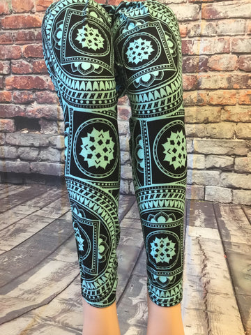 Stop Minting Around Printed Leggings