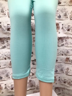 Solid Color Capri
