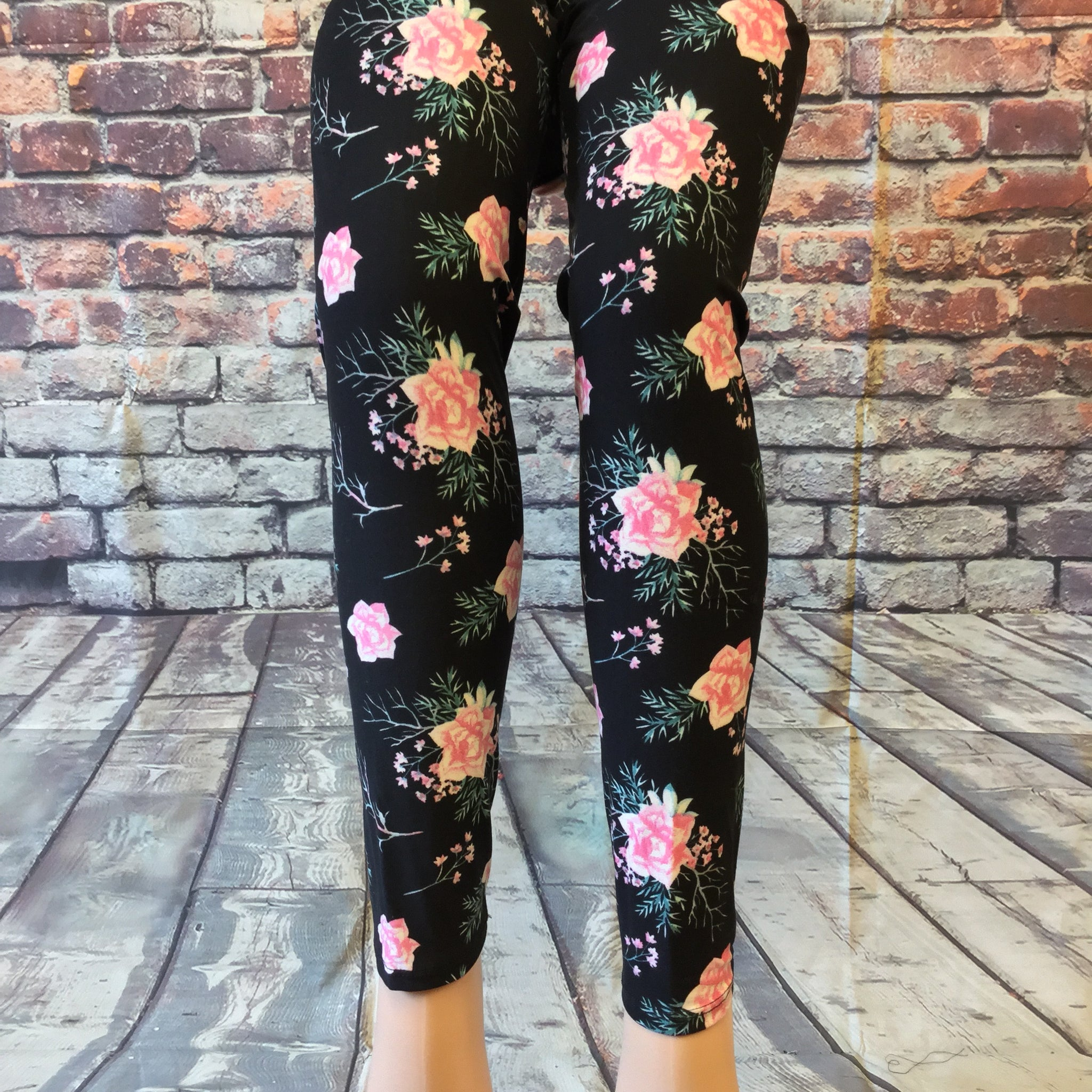 Light in Rose Printed Legging