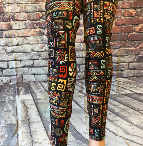 Architecture Find  Printed Leggings