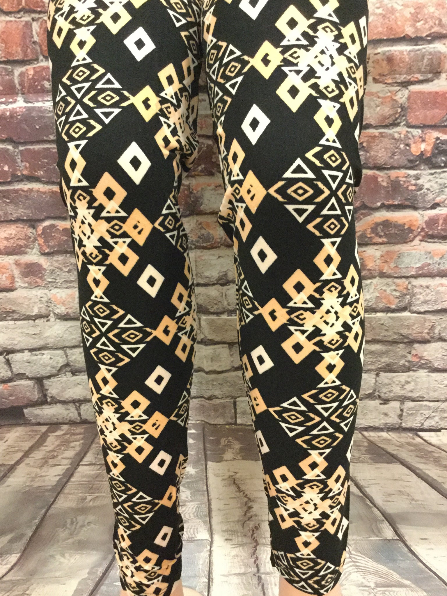 Peace Maker  Printed Leggings