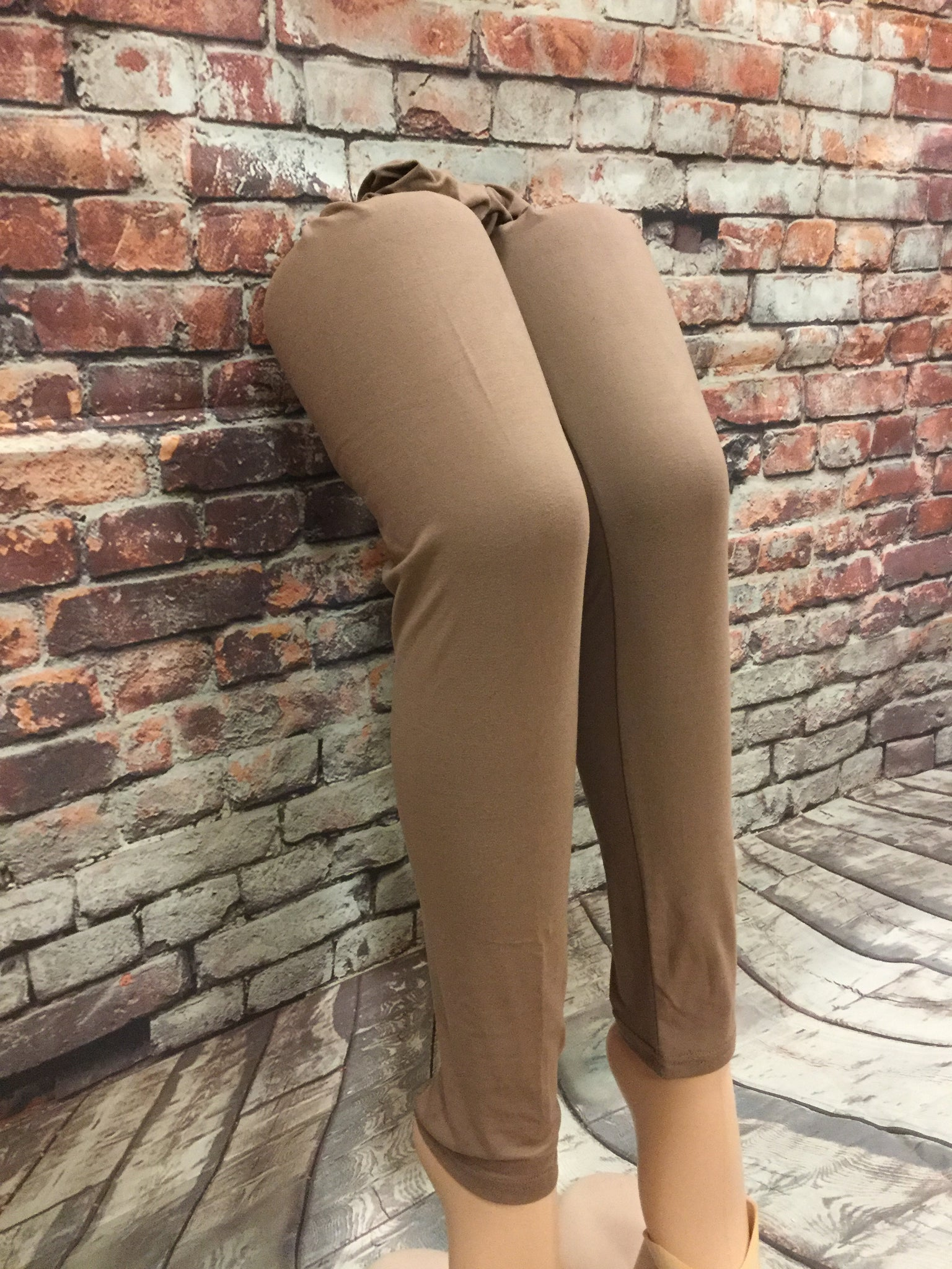 Solid Mocha Leggings