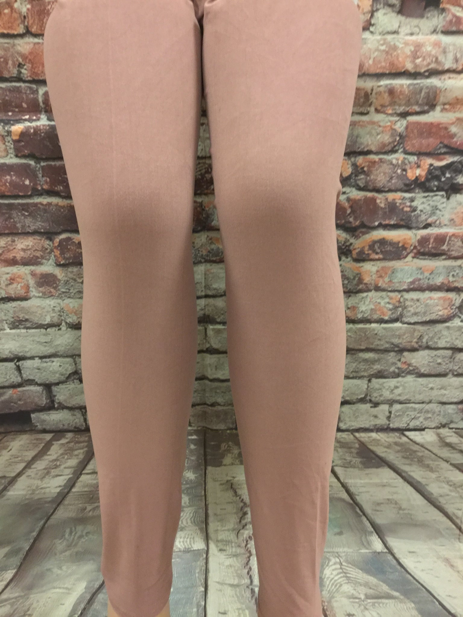 Solid Light Mauve Leggings