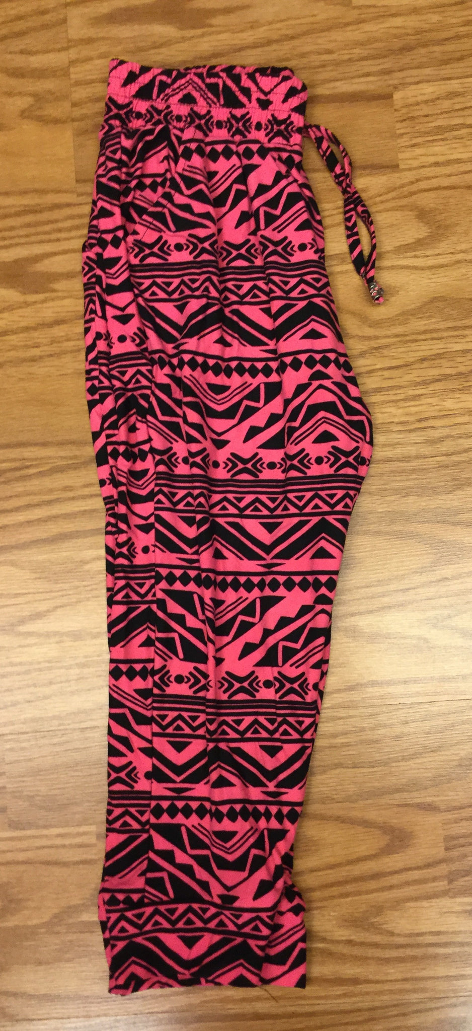 Cheyene Pink Capri with Pockets