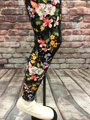 Garden of Love Girls Leggings