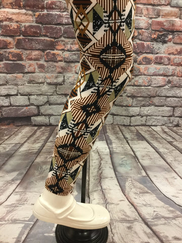 African Safari Girls Leggings
