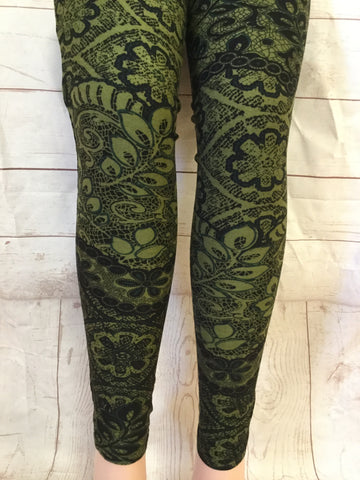 Olives and LacePrinted Leggings