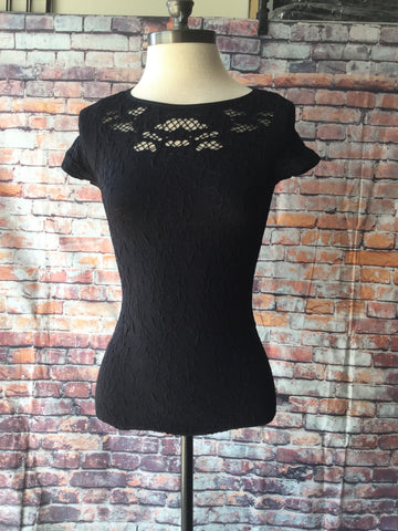 Fitted lace top