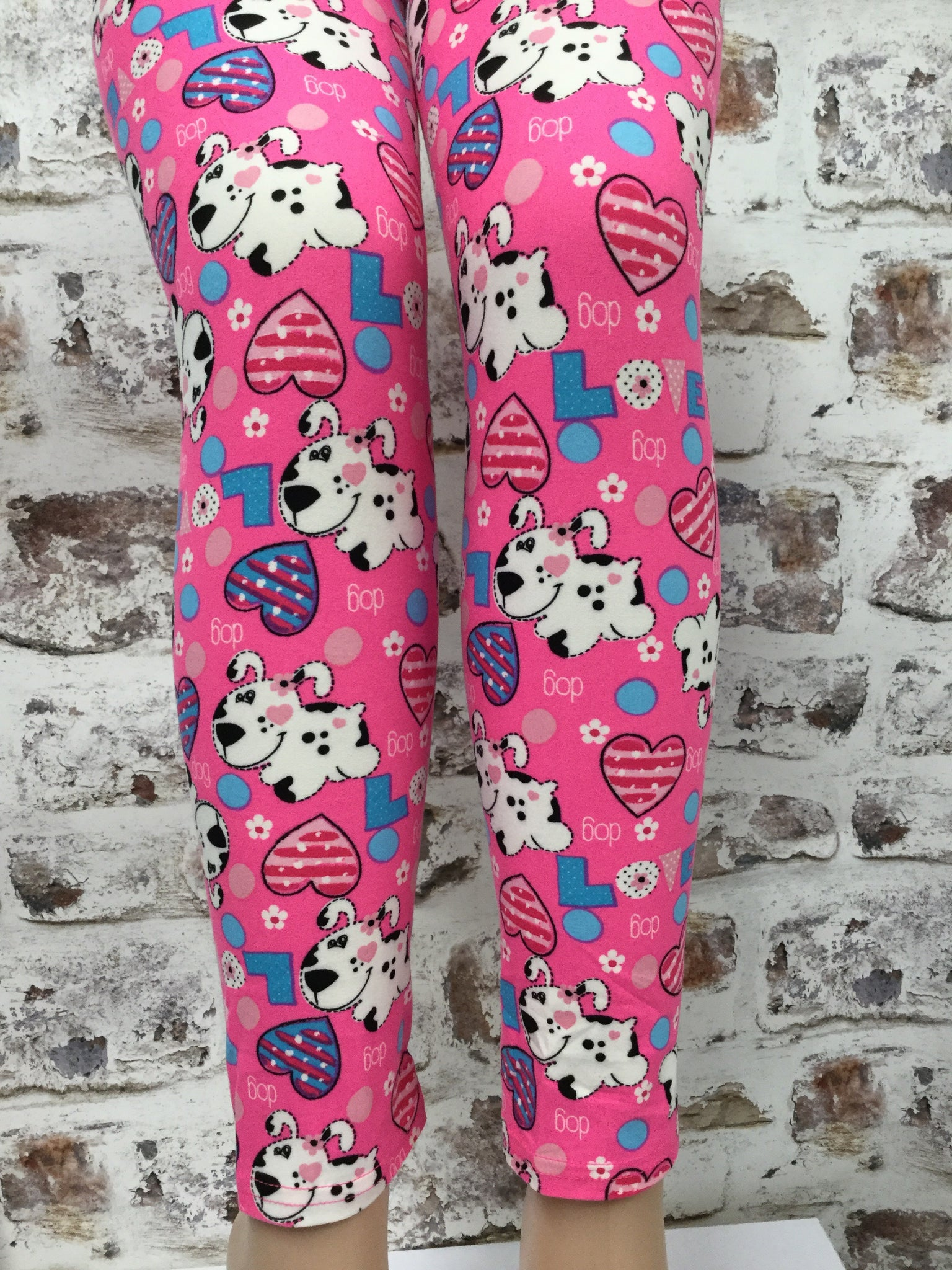 Extra Plus Dog Gone Love  Printed Legging