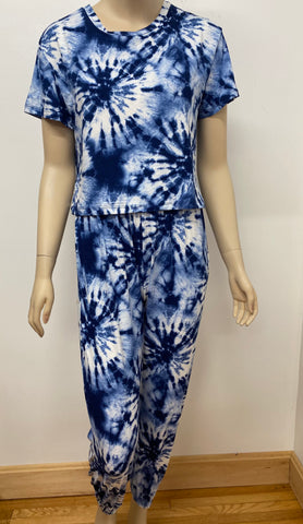 Tie Dye Top and Pants Set