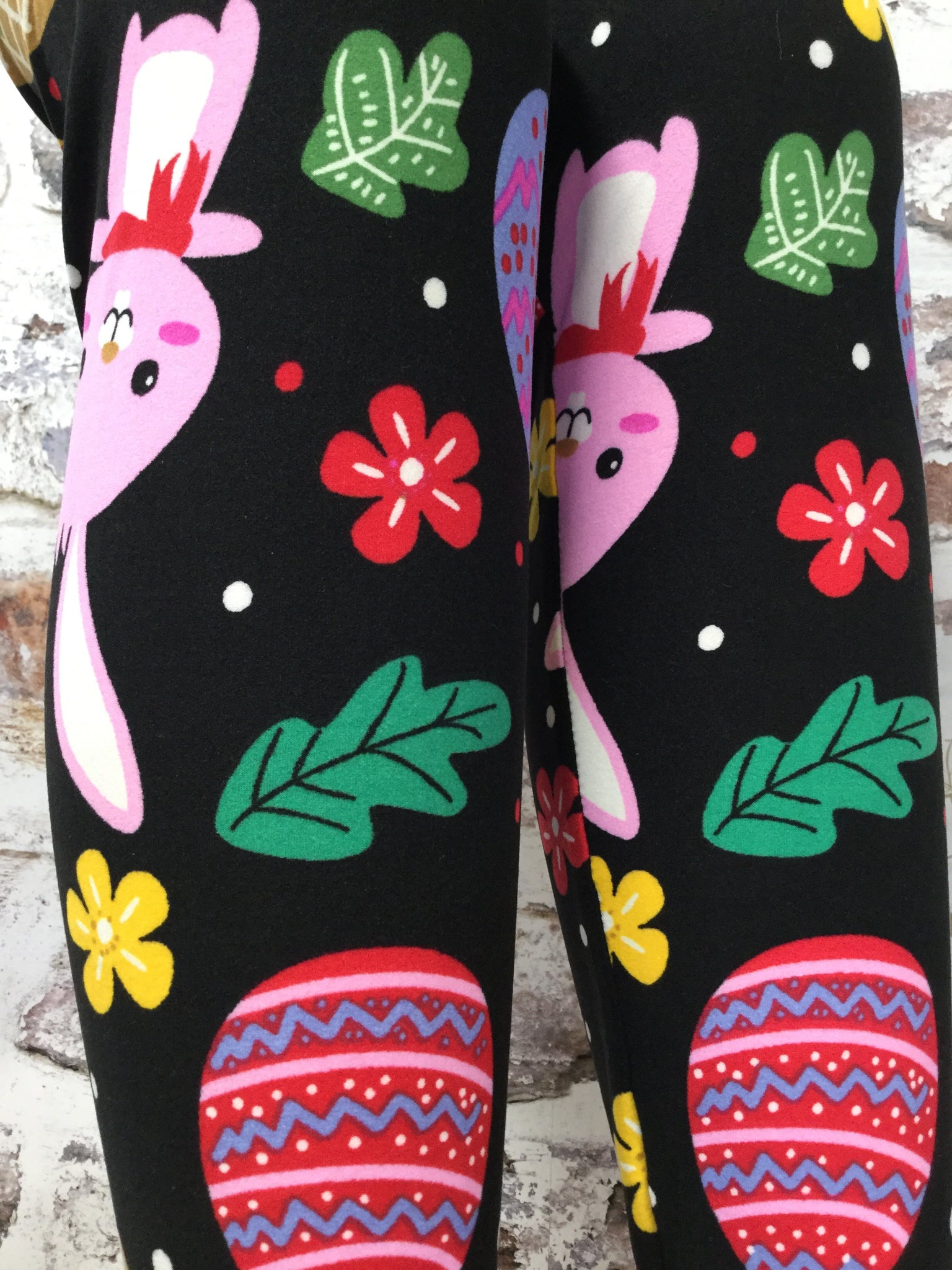 Easter Bunny Printed Leggings