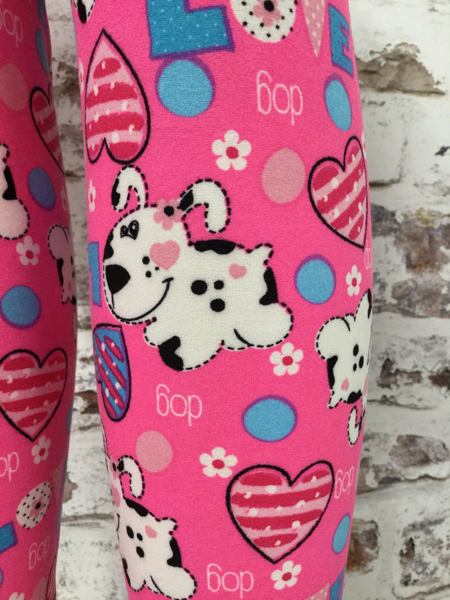 Dog Gone Love Printed Leggings