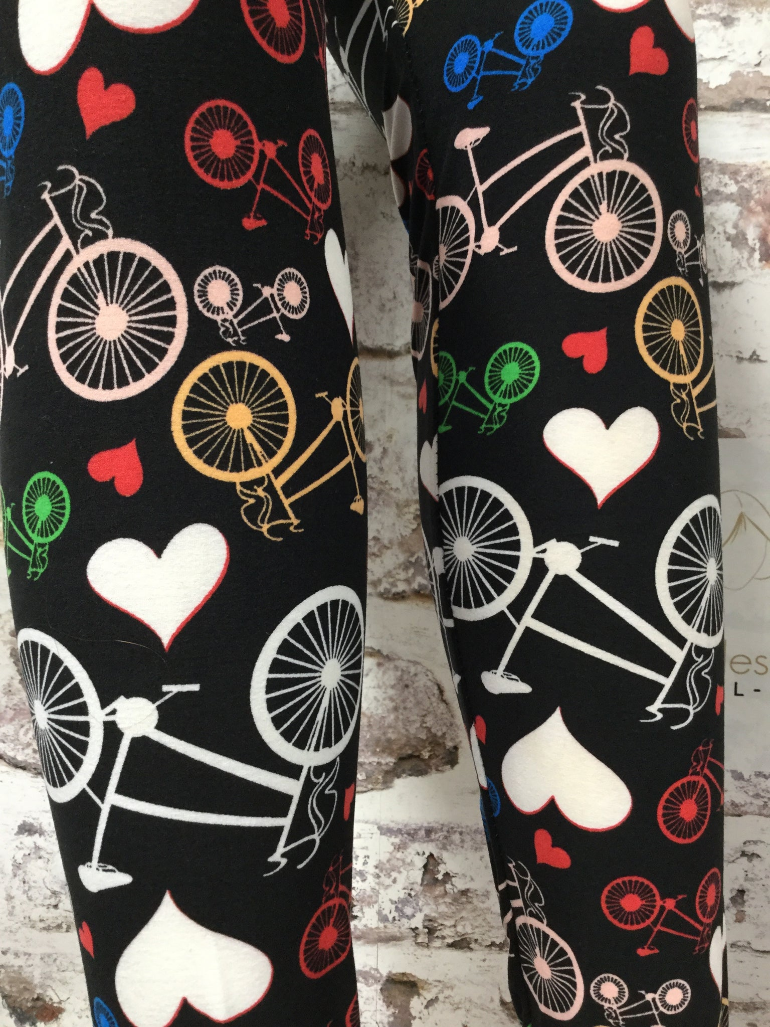 "I""m Loving Your Bicycle Leggings"