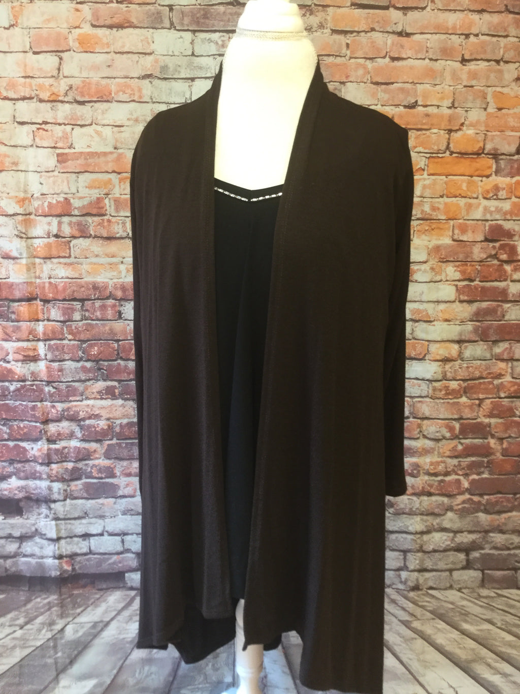 Long Brown Cardigan