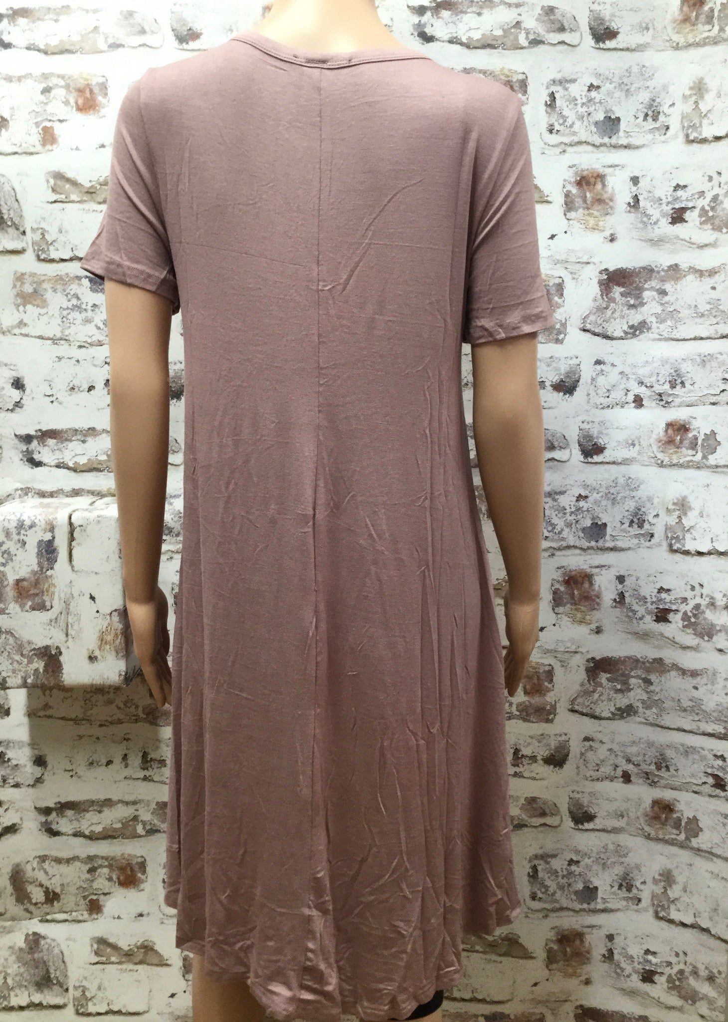 Vintage Lilac High Low Tunic