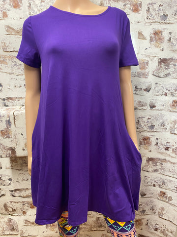 Purple Swing Top