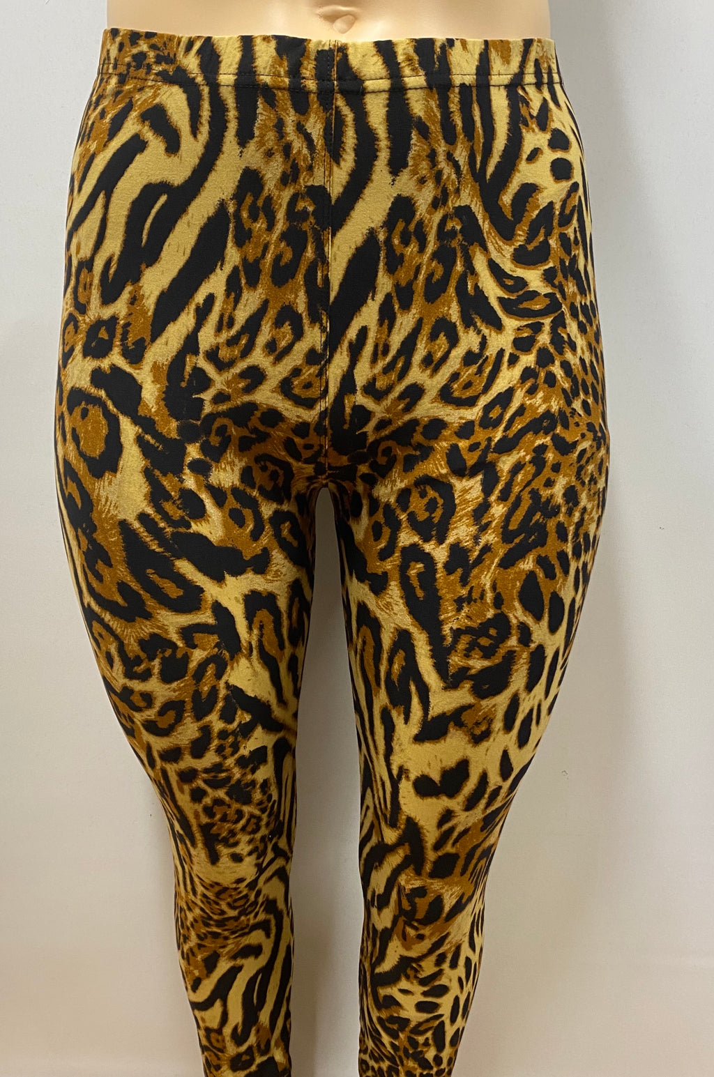 Extra Plus Animal Printed Leggings