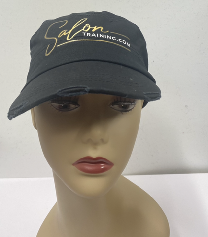 Distressed Salon Training Hat
