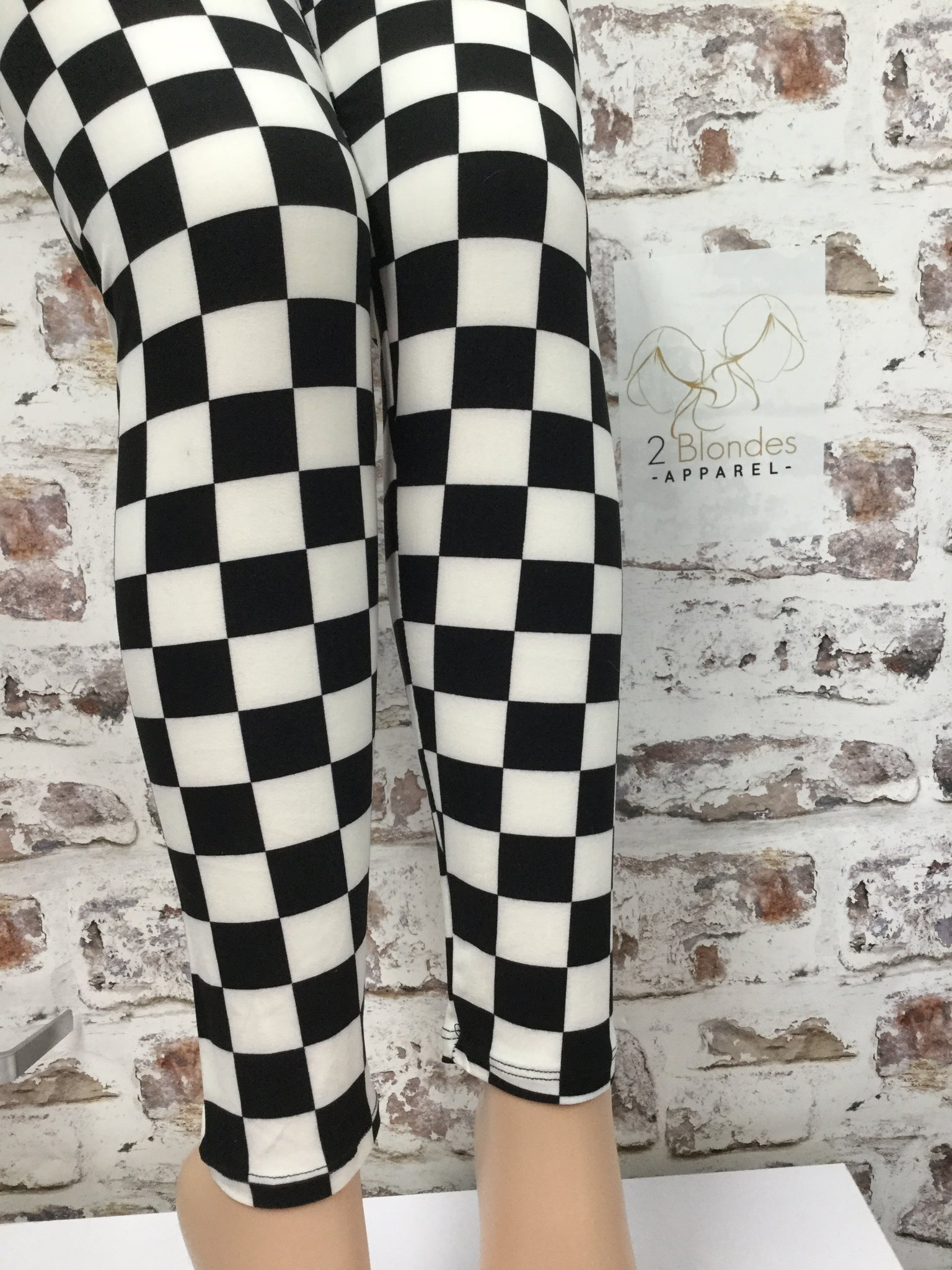 Off To The Races Print Legging