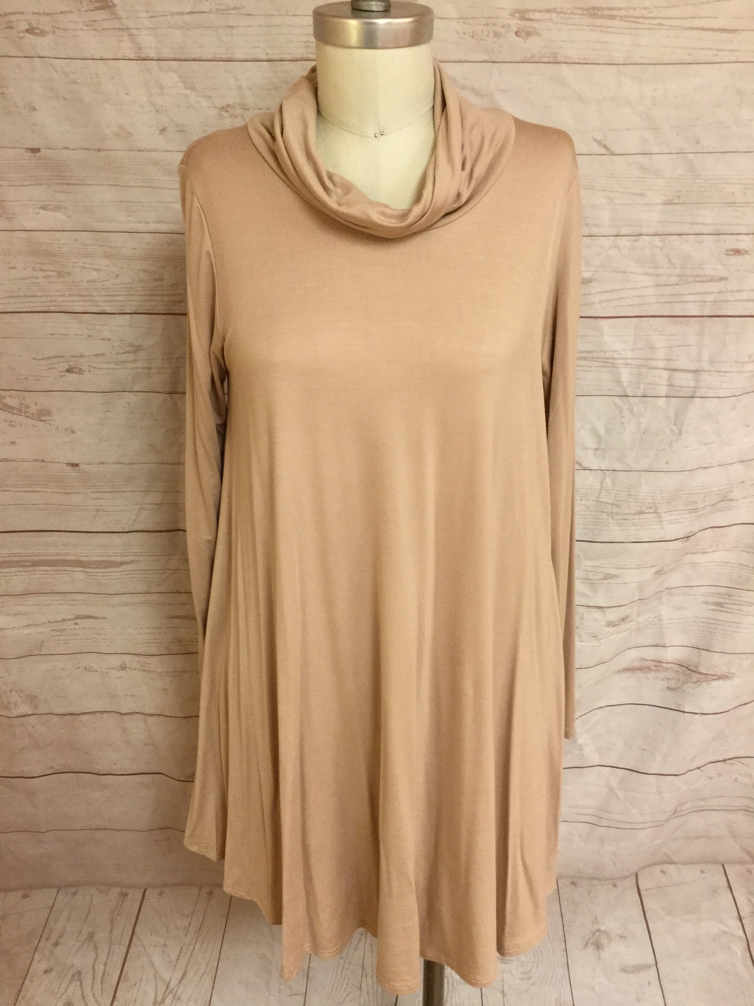 Cow Neck Swing Tunic