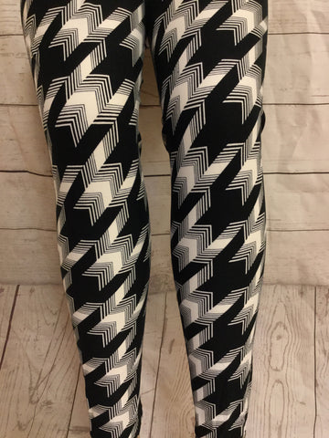 A Class Act Printed Leggings