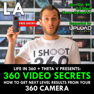 Join Us with Ben Claremont from Life In 360 for FREE 360 Tricks Conference in LA!
