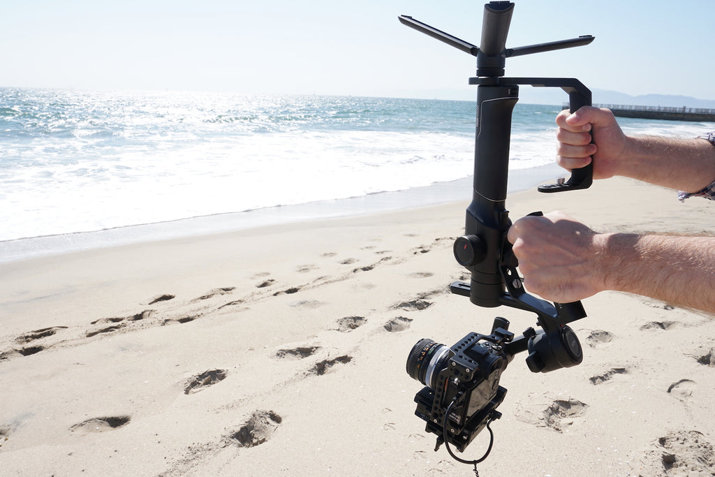 Beach Day with your Favorite Gimbal and Gimbal Bag