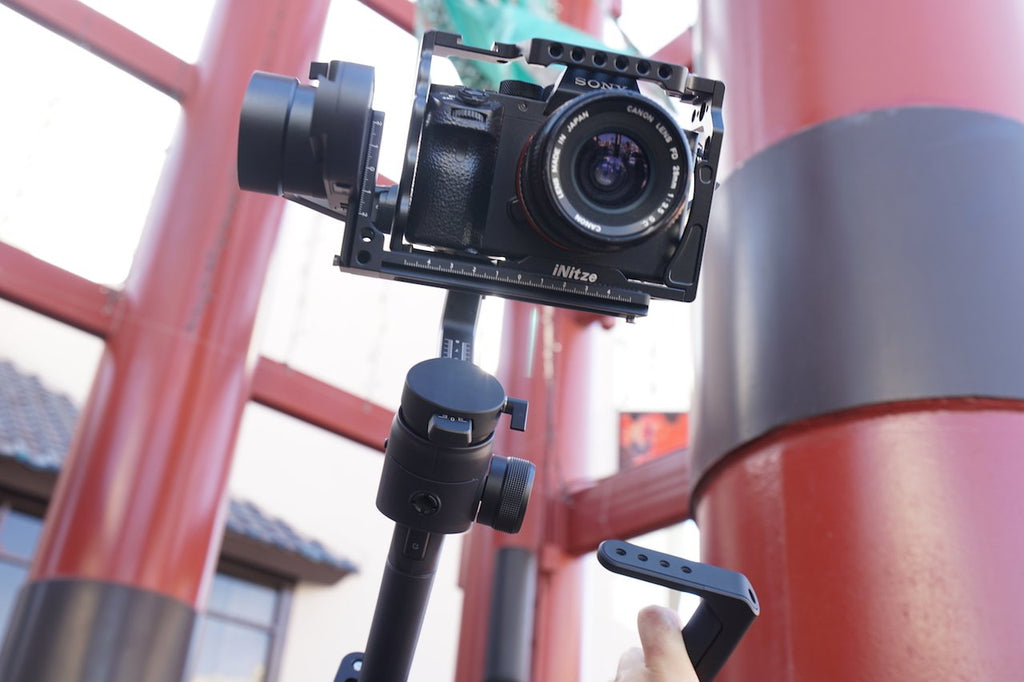 Transport the MOZA AirCross 2 with the Gimbal Bag