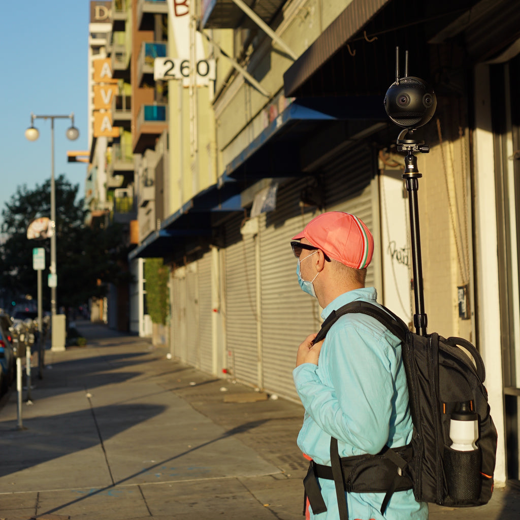 Virtual Tour Downtown Monopole Backpack