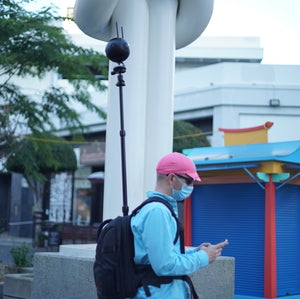 Virtual Tour Platform Monopole Backpack