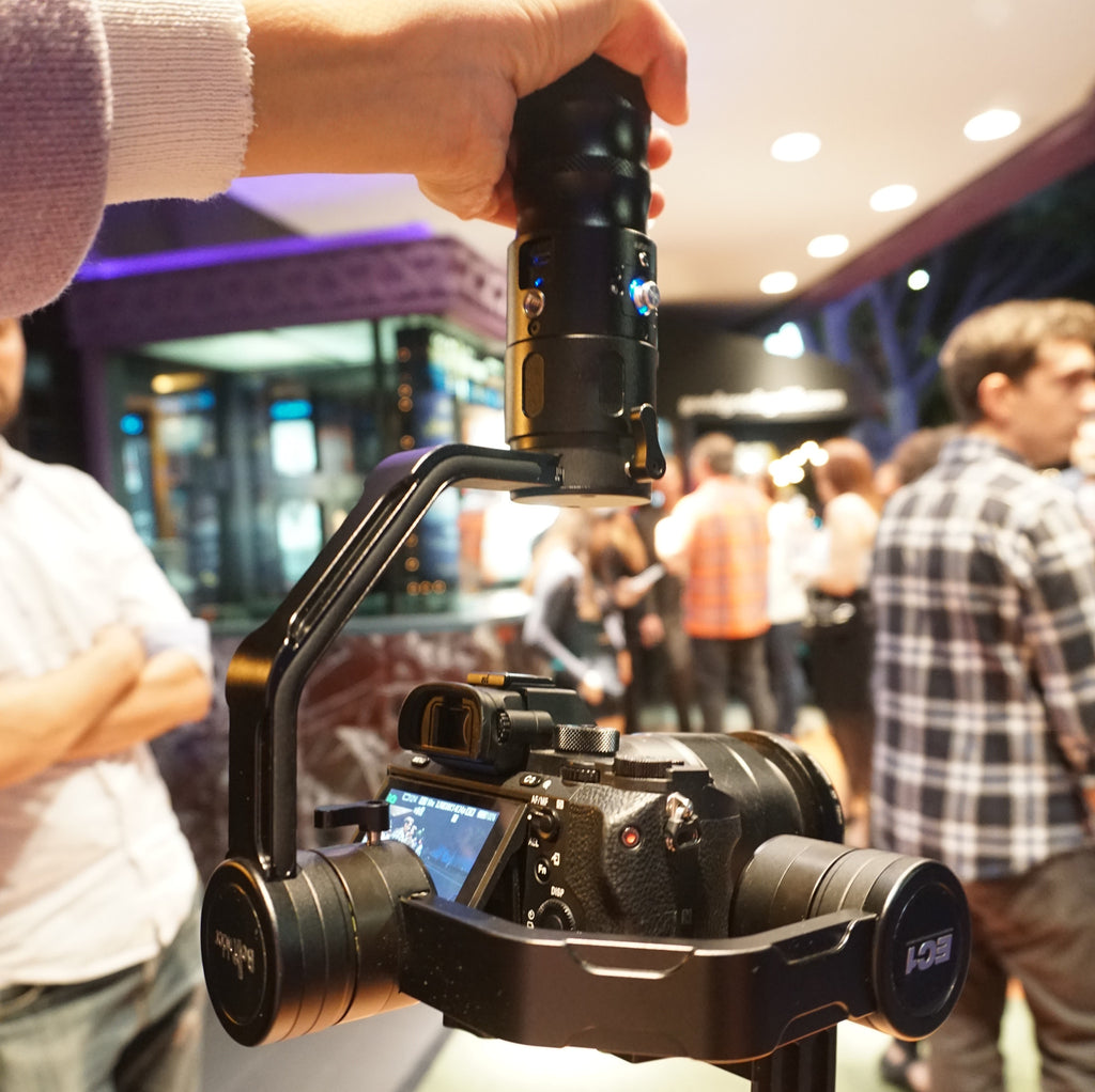 Restocked Beholder EC1 gimbal stabilizer finds its way through the crowd!