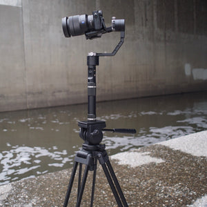 Zhiyun Crane gimbal stabilizer and Somita St-650 tripod equal the perfect duo!