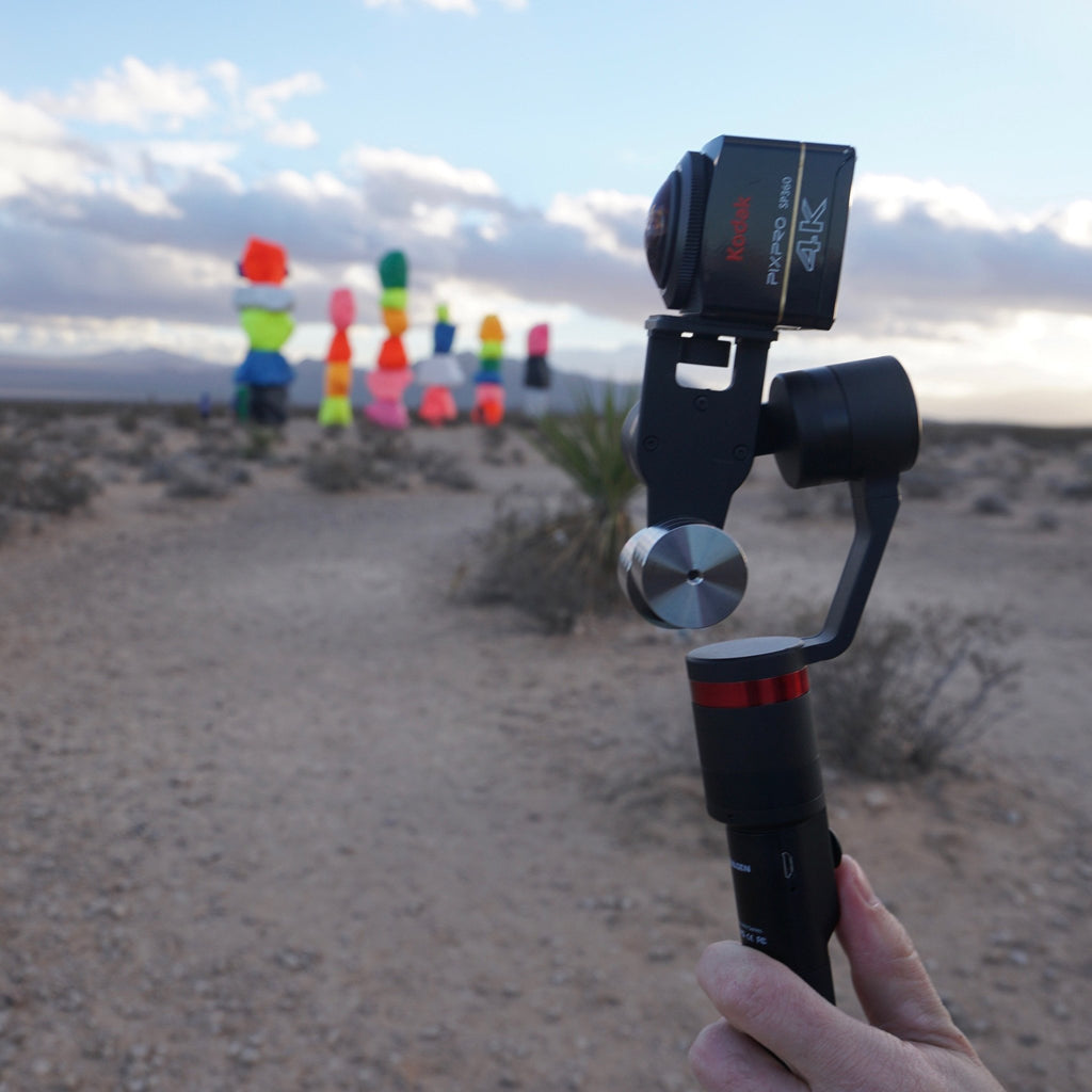 Find OwlDolly at CES Tradeshow! Try out the NEW Guru 360° stabilizer!