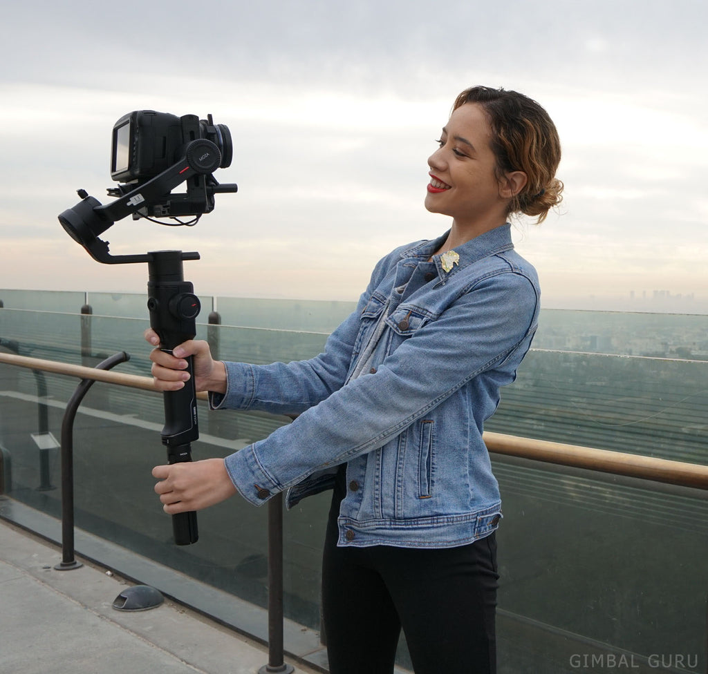 Getting Next Level Stabilization out of your Gimbal with Z-Axis Handles + Moza Air 2!