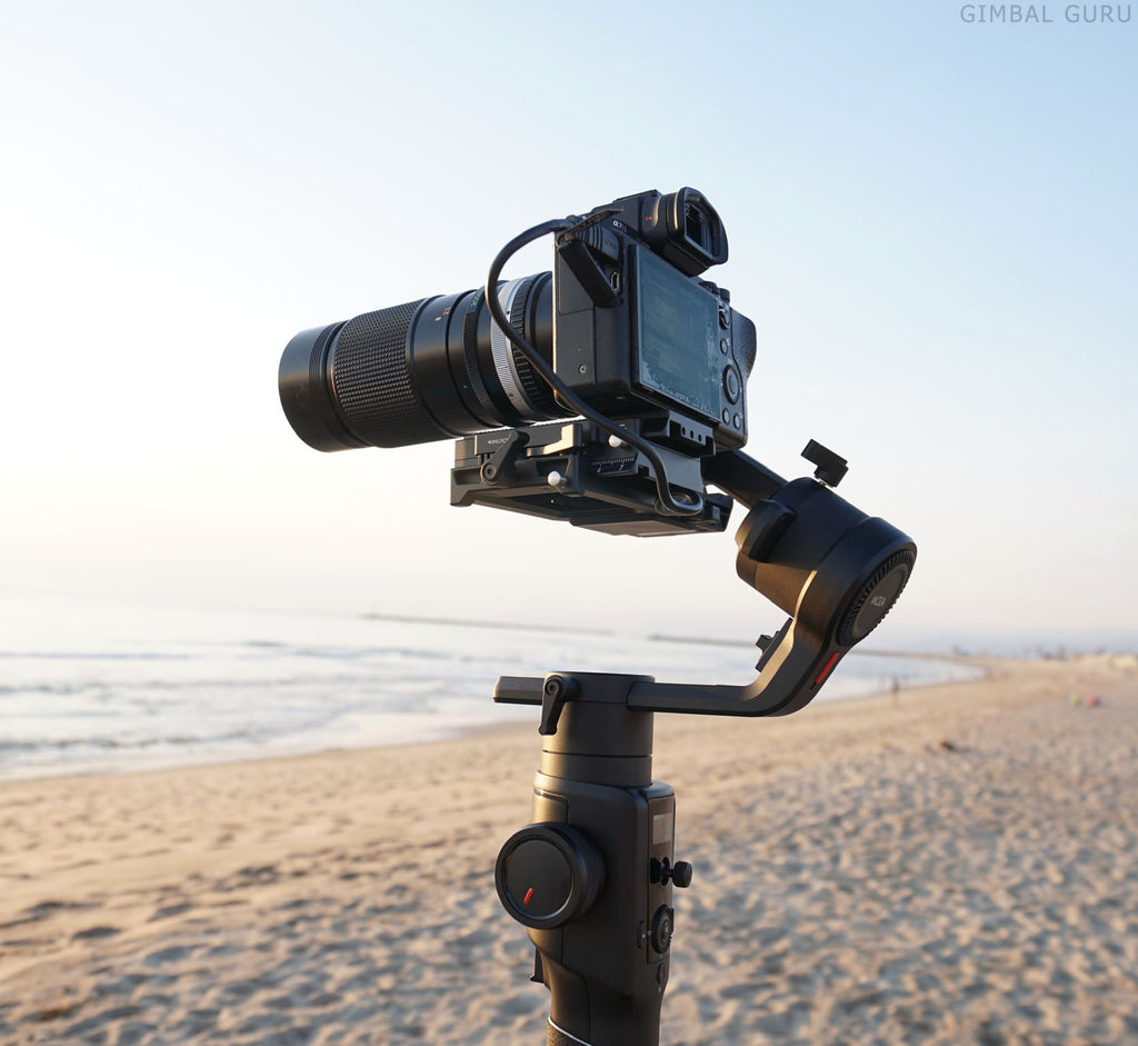 MOZA Air2 Camera Stabilizer's 9lb. payload is perfect for large camera setups!
