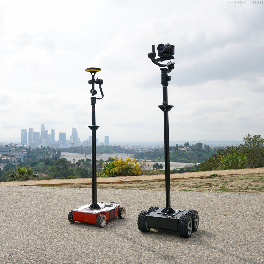 Pair Guru 360 Gimbal and Guru 360 Rover For The Perfect 360 Degree Team!