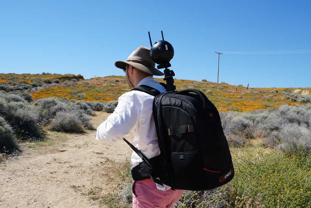 Monopole Backpack Version 2.0 and Insta360 Pro 2