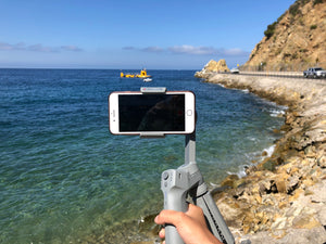 Traveling with a Smartphone Gimbal