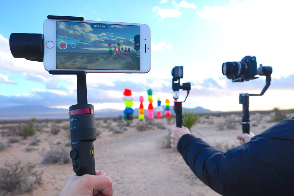 OwlDolly Brings Guru 360°, Moza Mini-C and Zhiyun Crane to you!