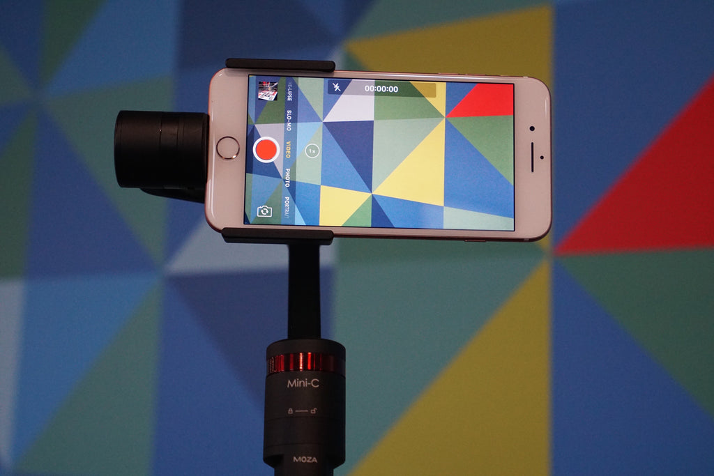 Making Modern Art with MOZA Mini-C Smartphone Stabilizer!